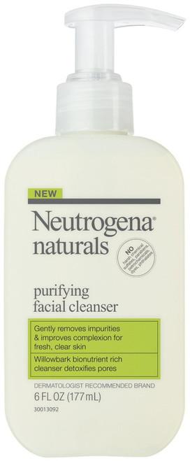 Neutrogena Naturals Purifying Facial Cleanser, 6 oz