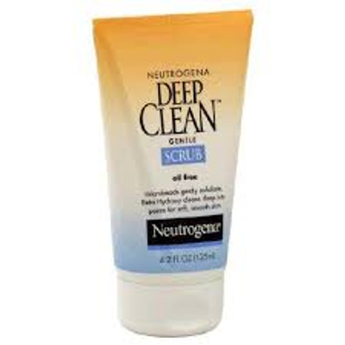 Neutrogena Deep Clean Oil-Free Gentle Scrub, 4.2 oz