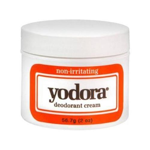 Yodora Non-Irritating Deodorant Cream, 2 oz