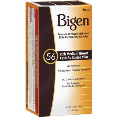 Bigen Permanent Powder Hair Color Kit, #56 Rich Medium Brown, 0.21 oz