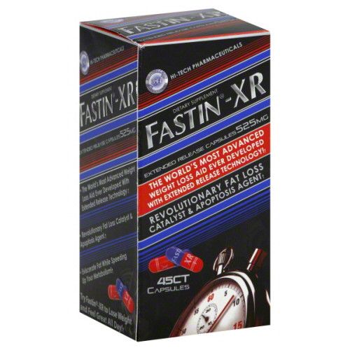 Fastin XR Extended Release Weightloss Capsules, 45 ct