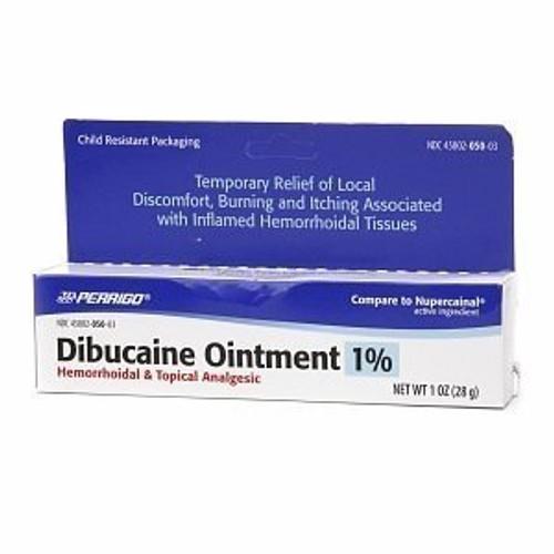 Dibucaine Hemorrhoid Topical Analgesic Ointment 1%, 1 oz