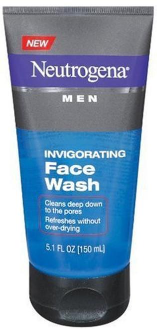 Neutrogena Men's Invigorating Face Wash, 5.1 oz
