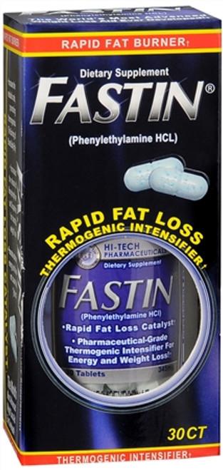 Fastin Rapid Weightloss Thermogenic Rapid Fat Burners, 30 ct