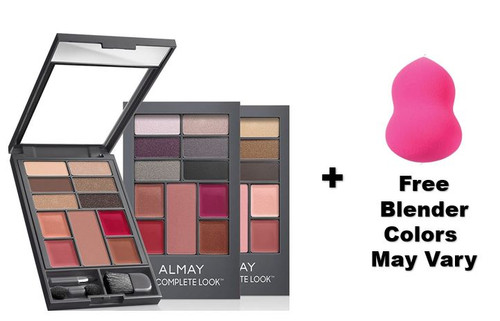 Almay The Complete Look Palette, Makeup for Eyes, Lips and Cheeks Compact