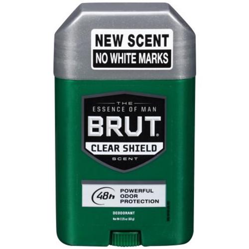 Brut Classic 48-Hr Protection Clear Shield Deodorant Stick, 2.25 oz, 1 Ea