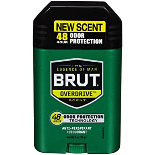 Brut Overdrive 48-Hr Protection Anti-Perspirant & Dedorant Stick, 2 oz