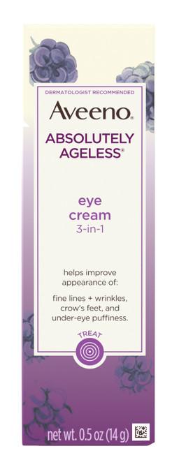 Aveeno Absolutely Ageless 3-In-1 Eye Cream, 0.5 oz
