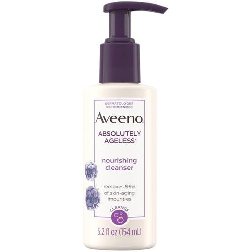 Aveeno  Absolutely Ageless Nourishing Cleanser, 5.2 oz
