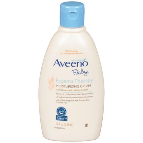 Aveeno Baby Eczema Therapy Moisturizing Cream, 12 oz
