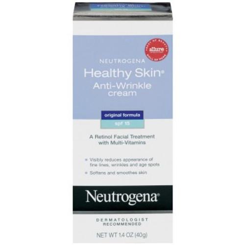 Neutrogena Healthy Skin Anti-Wrinkle Cream SPF 15, Original Formula, 1.4 oz