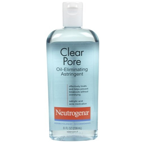 Neutrogena Clear Pore Oil Eliminating Astringent, 8 oz