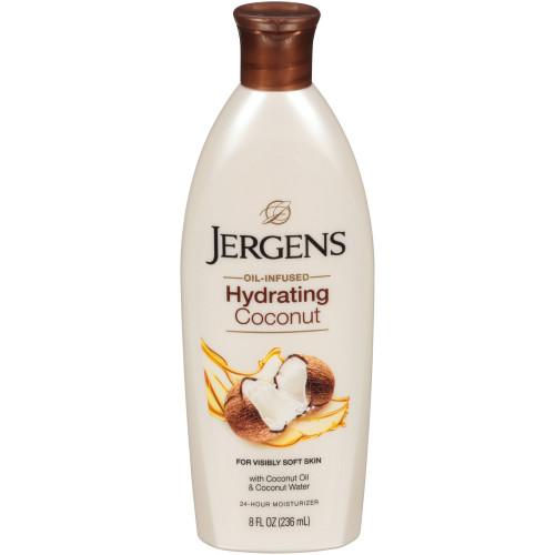Jergens Moisturizes & Softens Hydrating Coconut Lotion, 8 oz