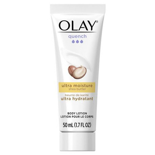 Olay Quench Ultra Moisture Lotion, with Shea Butter, 1.7 OZ