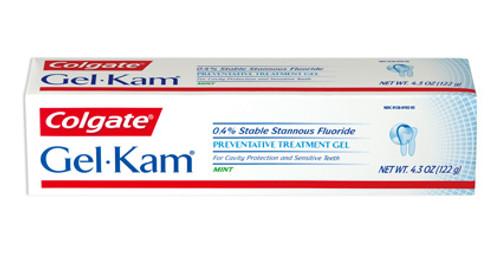 Colgate Gel-Kam Preventive Treatment Fluoride Gel, Mint, 4.3 oz