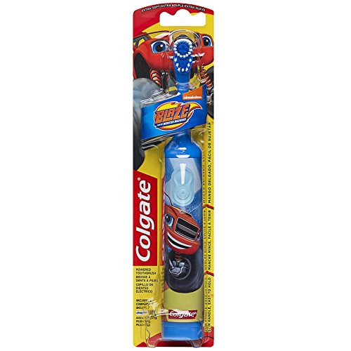 Colgate Kids Blaze Power Toothbrush, Extra Soft, Colors May Vary