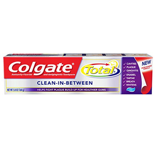 Colgate Total Clean In Between AntiCavity Protection Fluoride Gel, 5.8 oz