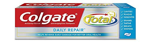Colgate Total Daily Repair AntiCavity Protection Fluoride Toothpaste, 4 oz