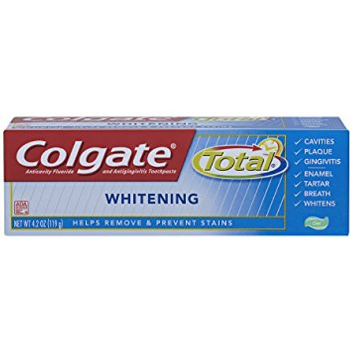 Colgate Total Whitening AntiCavity Protection Fluoride Gel, 4.2 oz