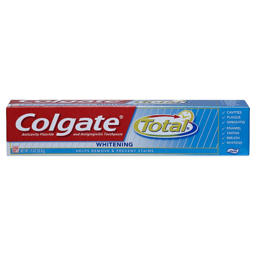 Colgate Total Whitening AntiCavity Protection Fluoride Toothpaste, 1.9 oz