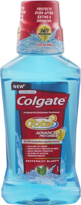 Colgate Total Proshield Mouthwash, Peppermint Blast, 8.4 oz