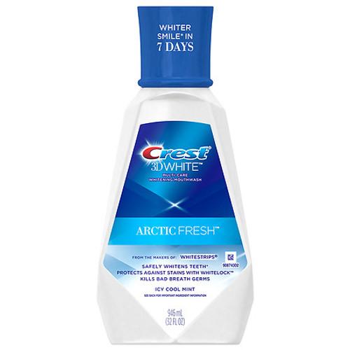 Crest 3D White Artic Fresh Mouthwash, Icy Cool Mint, 946 Ml