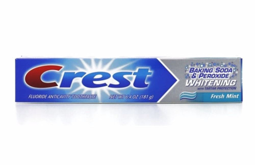 Crest Baking Soda & Peroxide + Whitening AntiCavity Fluoride Toothpaste, 6.4 oz