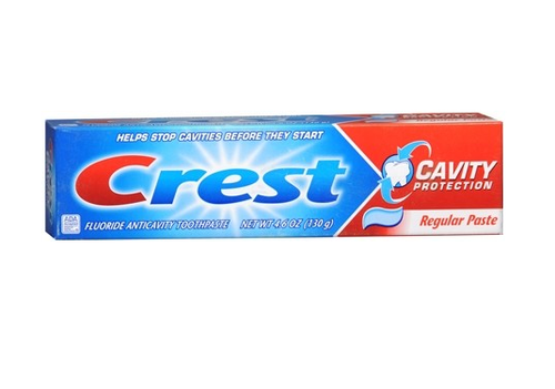 Crest Cavity Protection Anticavity Fluoride Toothpaste, 4.6 oz