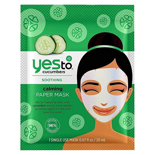 Yes to Cucumbers Soothing Calming Paper Mask