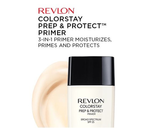 Revlon Colorstay 3-In-1 Prep & Protect Primer SPF 25, 0.9 oz