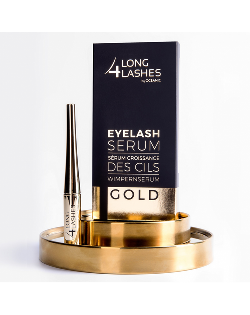 Long 4 Lashes Gold Formula EyeLash Serum, 4 ML
