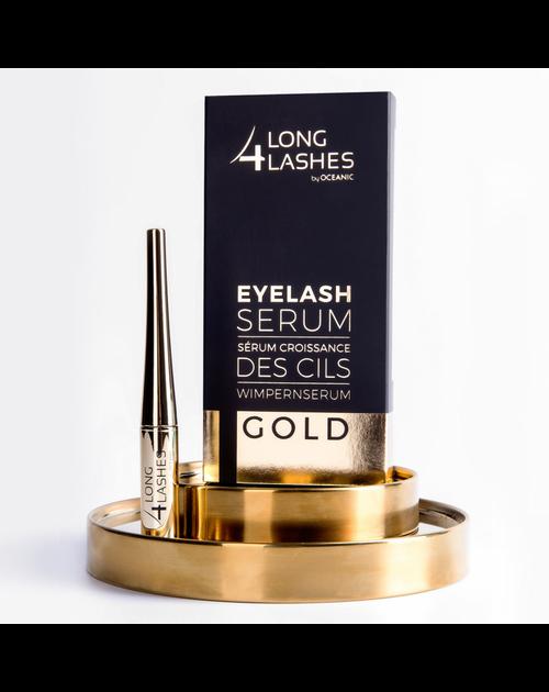 Long 4 Lashes Gold Formula EyeLash Serum, 4 ML
