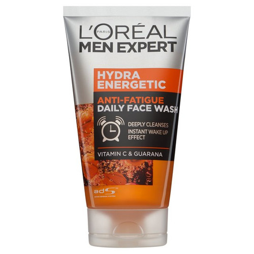 L'Oreal Men's Expert Hydra Energetic Anti Fatigue Daily Face Wash, 150 ml