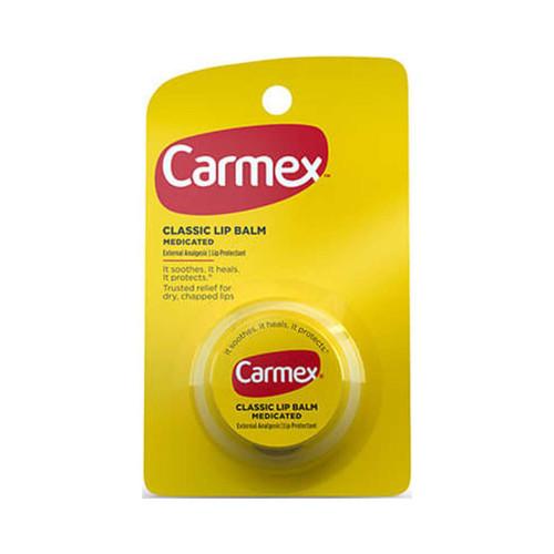Carmex Original Lip Balm Jar,  0.25 oz