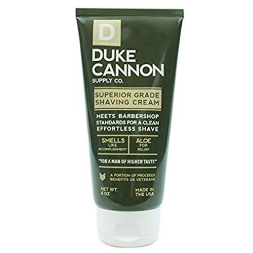 Duke Cannon Superior Grade Shaving Cream, 6 oz