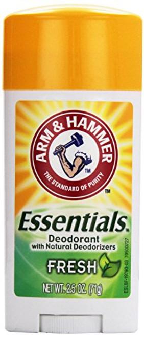 Arm & Hammer Essentials Deodorant, Fresh, 2.5 oz