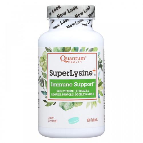 Quantum Health Super Lysine+ Tablets, 180 ct