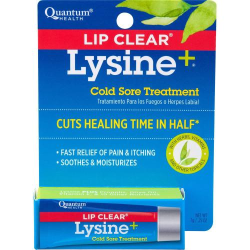 Quantum Health Lip Clear Lysine Lip Treatment, .25 oz