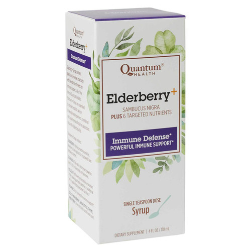 Quantum Health Elderberry Syrup, 4 oz