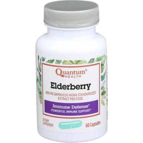 Quantum Health Elderberry Capsules, 60 ct