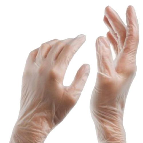 Leader Powder-Free Vinyl Exam Gloves, 100 ct