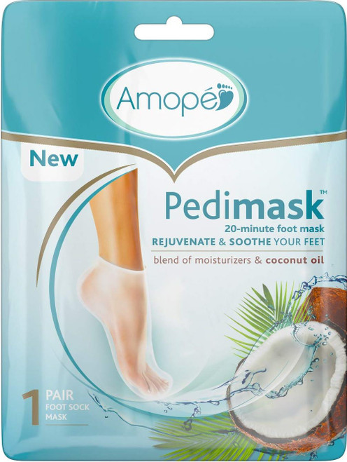 Amope PediMask 20-Minute Foot Mask, 1 Pr