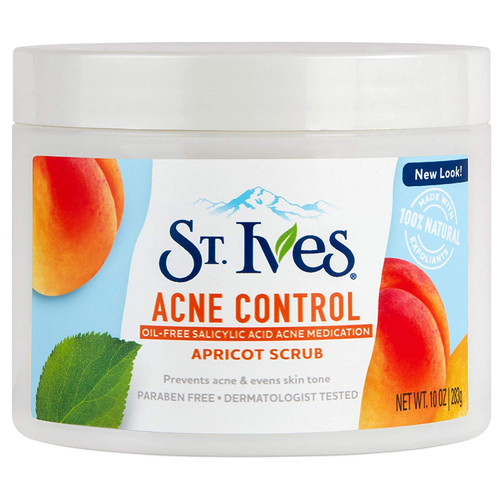 St Ives Acne Control Apricot Scrub, 10 OZ