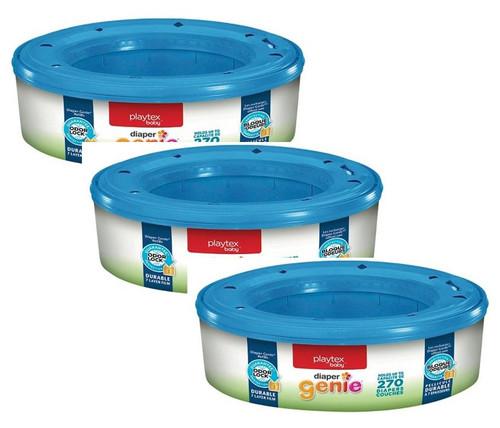 Playtex Diaper Genie II Refill Bags, 270 ct, 3 PACKS