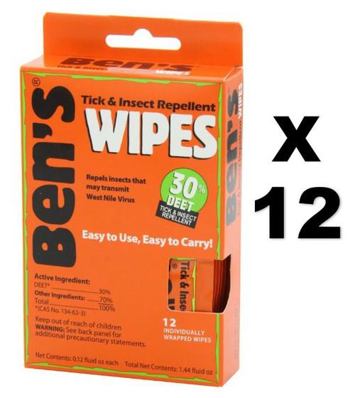 Bens Tick & Insect Repellent Non-Aerosol Spray, 3.4 oz, 12 ct, 12 PACKS, 1 CASE