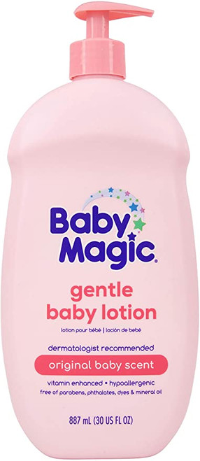 Baby Magic Gentle Baby Lotion, Original Baby Scent, 30 oz