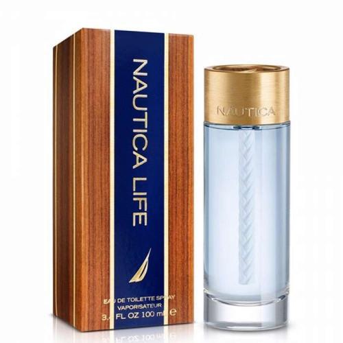 Nautica Life Eau De Toilette Spray for Men, 3.3 oz