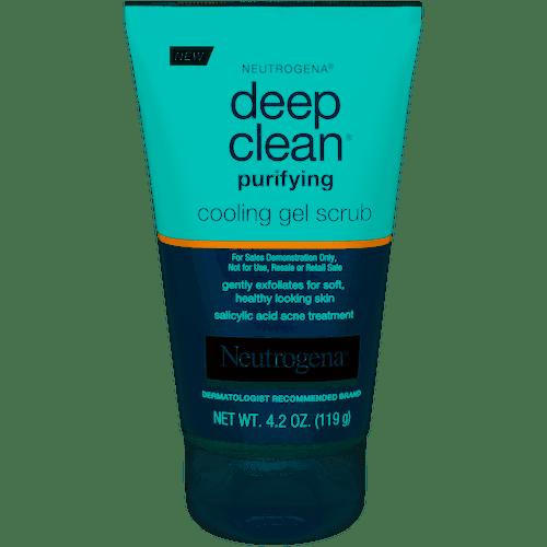 Neutrogena Deep Clean Purifying Cooling Gel Scrub, 4.2 oz
