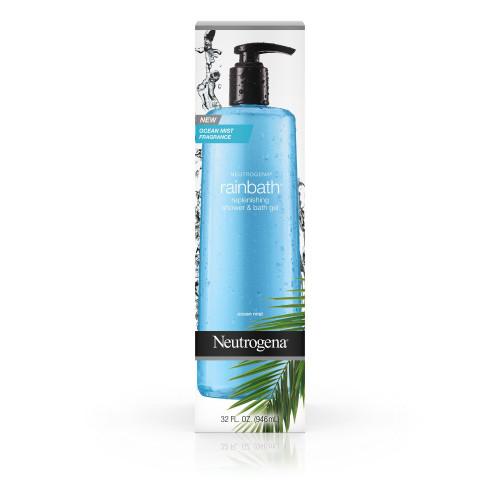 Neutrogena Rainbath Replenishing Shower & Bath Gel, Ocean Mist, 32 oz