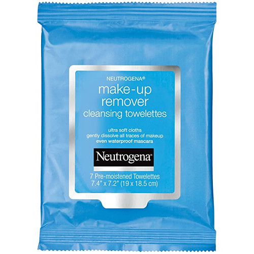 Neutrogena Make-up Remover Cleansing Towelettes Refills, 7 ct, 3 PACKS